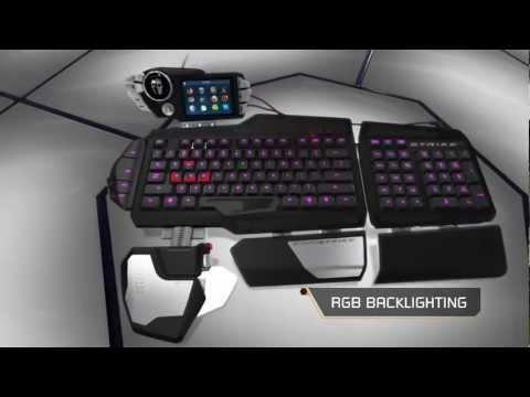 Mad Catz Cyborg S.T.R.I.K.E.7 Gaming Keyboard