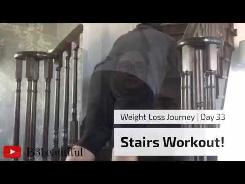 Weight Loss Journey | Day 33| Stairs Workout