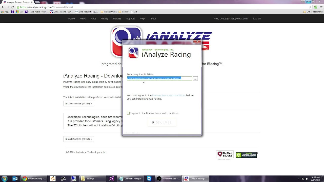 TwineSocial: iAnalyze Racing