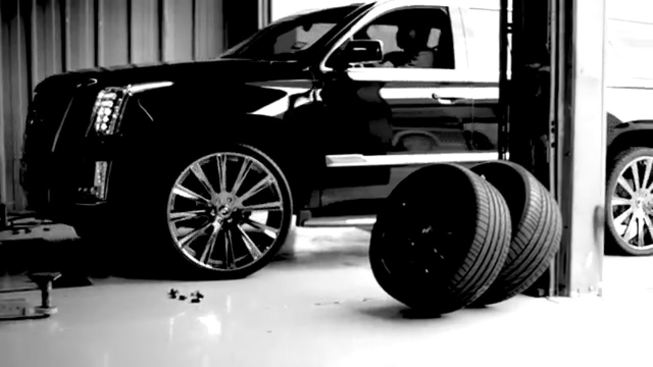 slim thug's new cadillac escalade on forgiato lavorato wheels - youtube