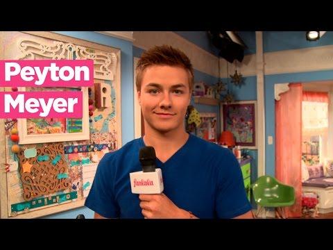 Peyton Meyer talks about the Girl Meets World kiss!
