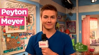 Peyton Meyer talks about the Girl Meets World kiss!
