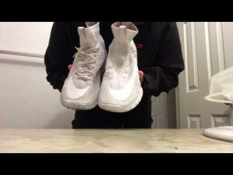 Crep Cleaner Review On Nike White Free Flyknit Mercurial!