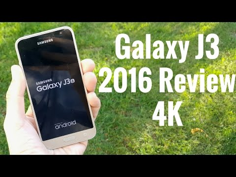 Samsung Galaxy J3 (2016) Review! (4K)