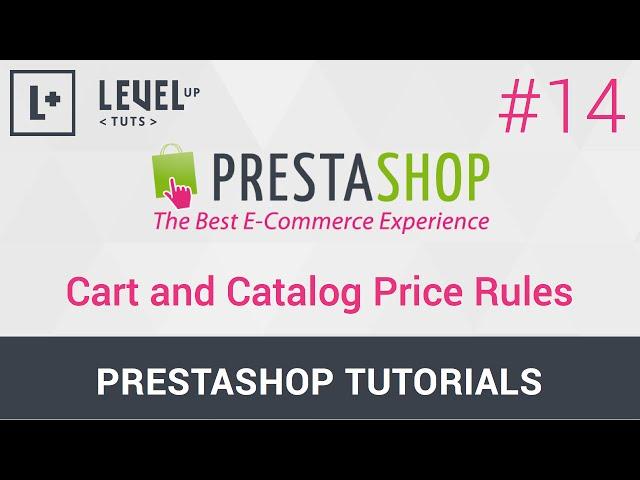 PrestaShop Tutorials #14 - Cart and Catalog Price Rules