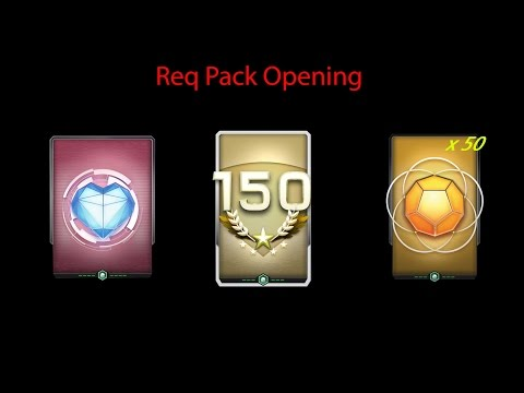Halo 5: guardians - REQ Pack opening - SR 150 Pack + Timmy Pack + 50 Gold packs