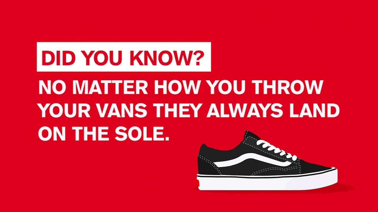 VansChallenge  no matter how you throw your Vans they always land on the  sole. YoMzansi 0412a85f5
