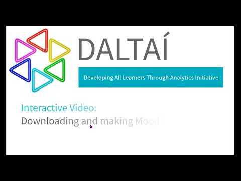 DALTAI Learning Analytics Training Resource - Dr Sean Daffy, GMIT, Feb 2021