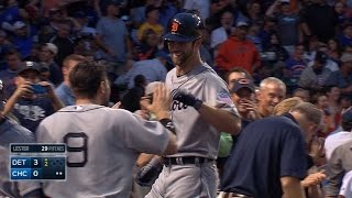 Norris belts two-run shot in first career AB