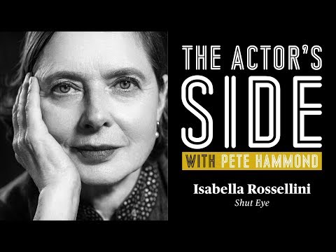 Isabella Rossellini  The Actor's Side with Pete Hammond