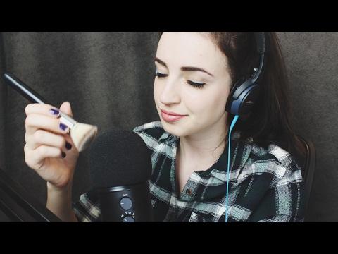 [ASMR] Goodnight Triggers (Mic/Camera Brushing, Hand Movements, Massage)