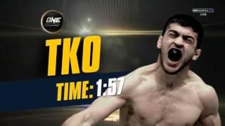 ONE Championship Saygid ''Dagi'' Arslanaliev vs. Georgi Stoyanov (ONE FC 51) QUEST FOR POWER