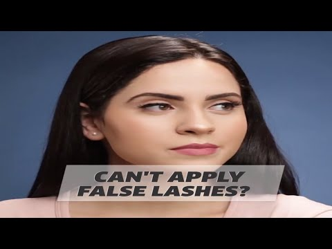 Can't Apply False Lashes