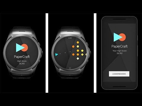 Top 5 Smartwatch Games For Android Wear 2.0!(2017)