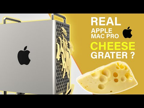 Apple Mac Pro CHEESE Grater Machine REAL LIFE