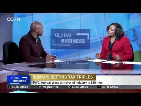 Kenya slaps a 50% tax on earnings from gambling