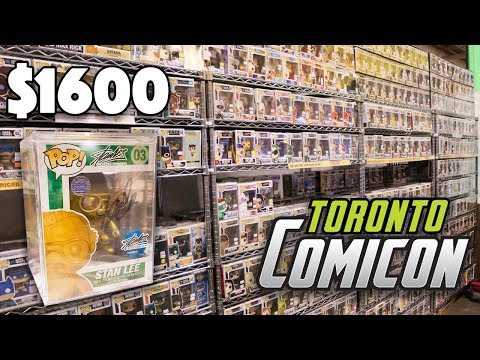 Looking For The Most Expensive Pops at Toronto Comicon