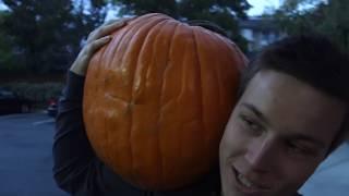 I GOT THE BIGGEST ONE! Pumpkin Hunting Video