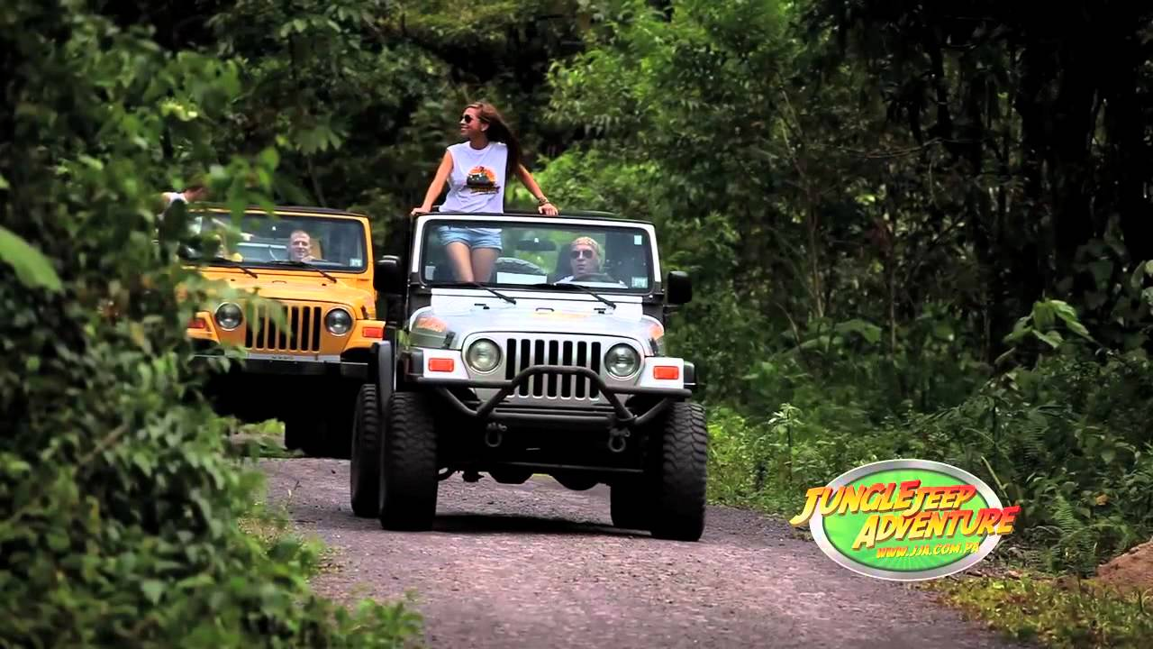Jungle Jeep Adventure Panama Youtube