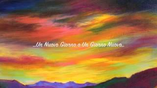 Un Nuovo Giorno o Un Giorno Nuovo - Claudio Baglioni - Cover Chitarra Acustica
