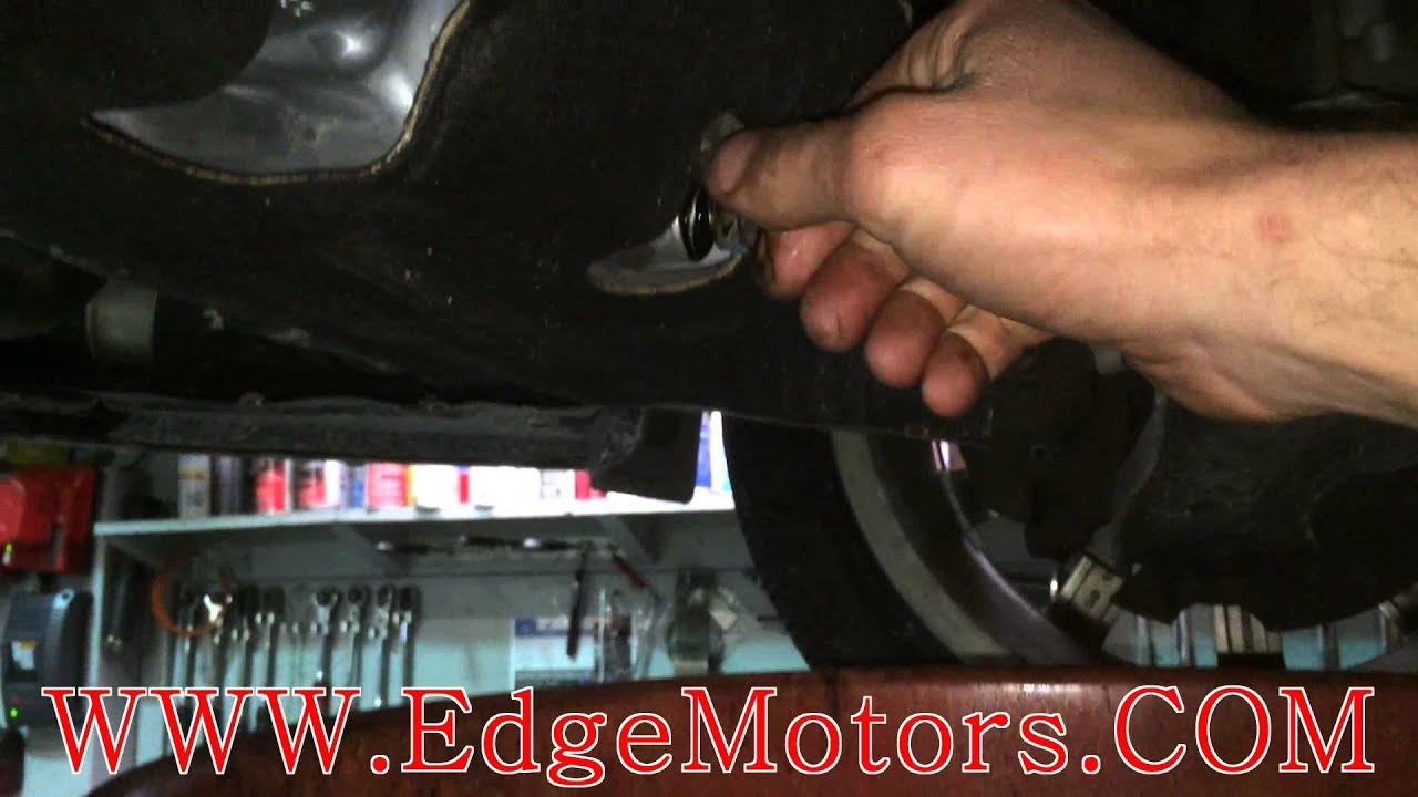 2010 Audi A3 Tdi Oil Change Diy By Edge Motors Youtube