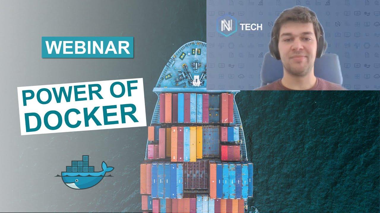 WEBINAR - Discover the power of Docker!