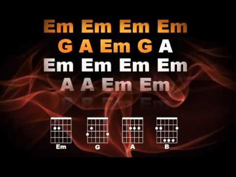 Guitar Karaoke - Always On the Run