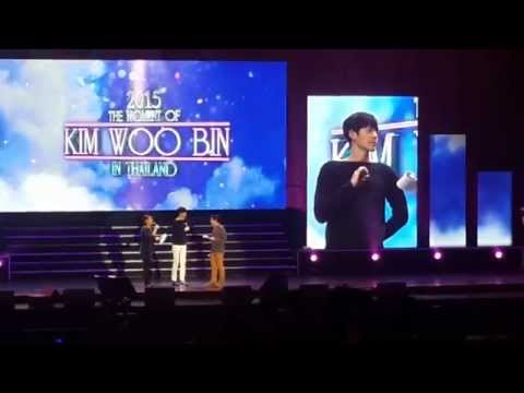 150308 The Moment Of Kim WooBin in Thailand - Cake, Thai School Uniform Gift