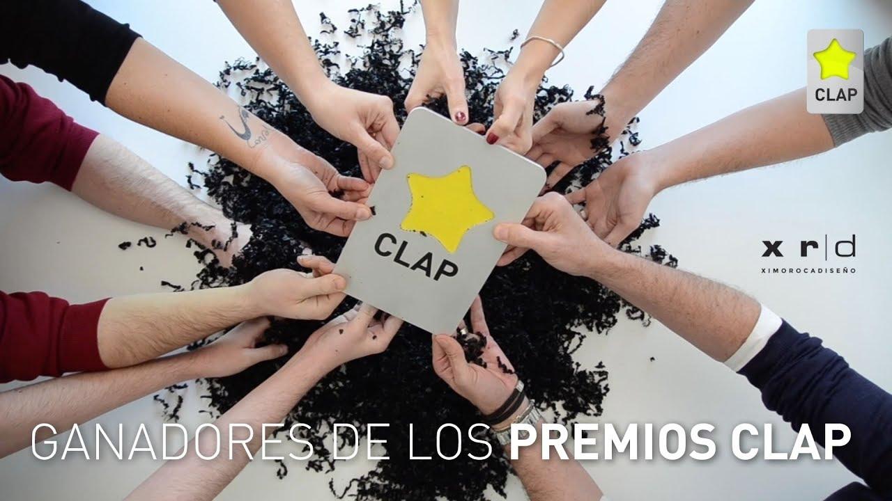 Así festejan los ganadores de los Premios CLAP