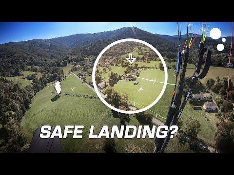 Landing Safely On A Paraglider (no Windsock!)