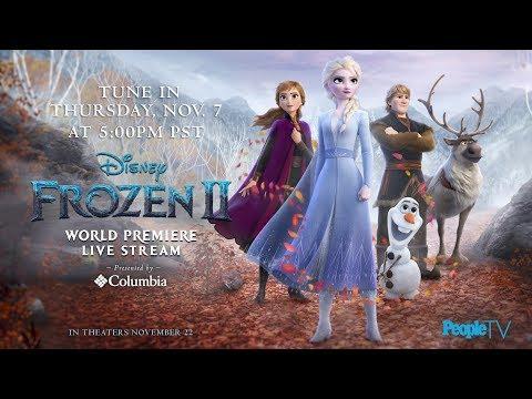 Frozen 2 World Premiere Red Carpet: Kristen Bell, Idina Menzel & More | PeopleTV