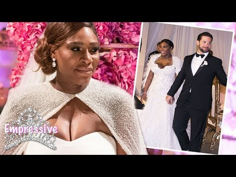 Download Youtube: Serena Williams and Alexis Ohanian's luxurious wedding! | Pictures inside
