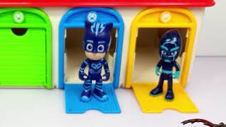 Iron Man, Spider Man, PJ Masks & Tayo bus, Disney Car, Thomas Cockroach Monster Story