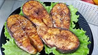 Как приготовить Семгу в духовке с Соусом ☆Узбечка готовит