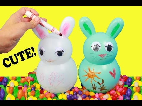 DIY EASTER KIDS CRAFT Easter Bunny Decorate Crayola