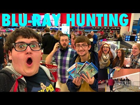 BLACK FRIDAY BLU-RAY HUNTING 2017-  BEST BUY/TARGET/FYE/WALMART