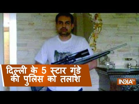 Delhi: Police hunts for Ashish Pandey who brandished gun at 5star hotel, airports alerted