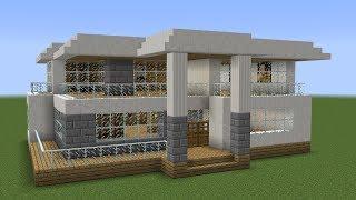 Minecraft - How t๐ build a modern house 29
