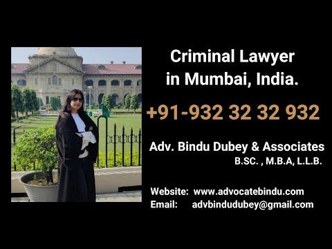 Criminal lawyer in Mumbai and Navi Mumbai, India - Adv Bindu Dubey & Associates