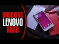 Lenovo a858 Greek Unboxing Review