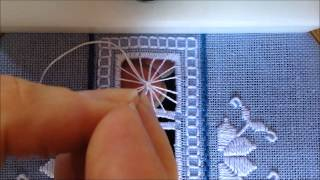 Tutorial de preenchimento em leque – Bordado em tecido