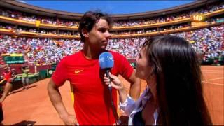 Rafa Nadal da el punto definitivo para que España sea  finalista de la Davis