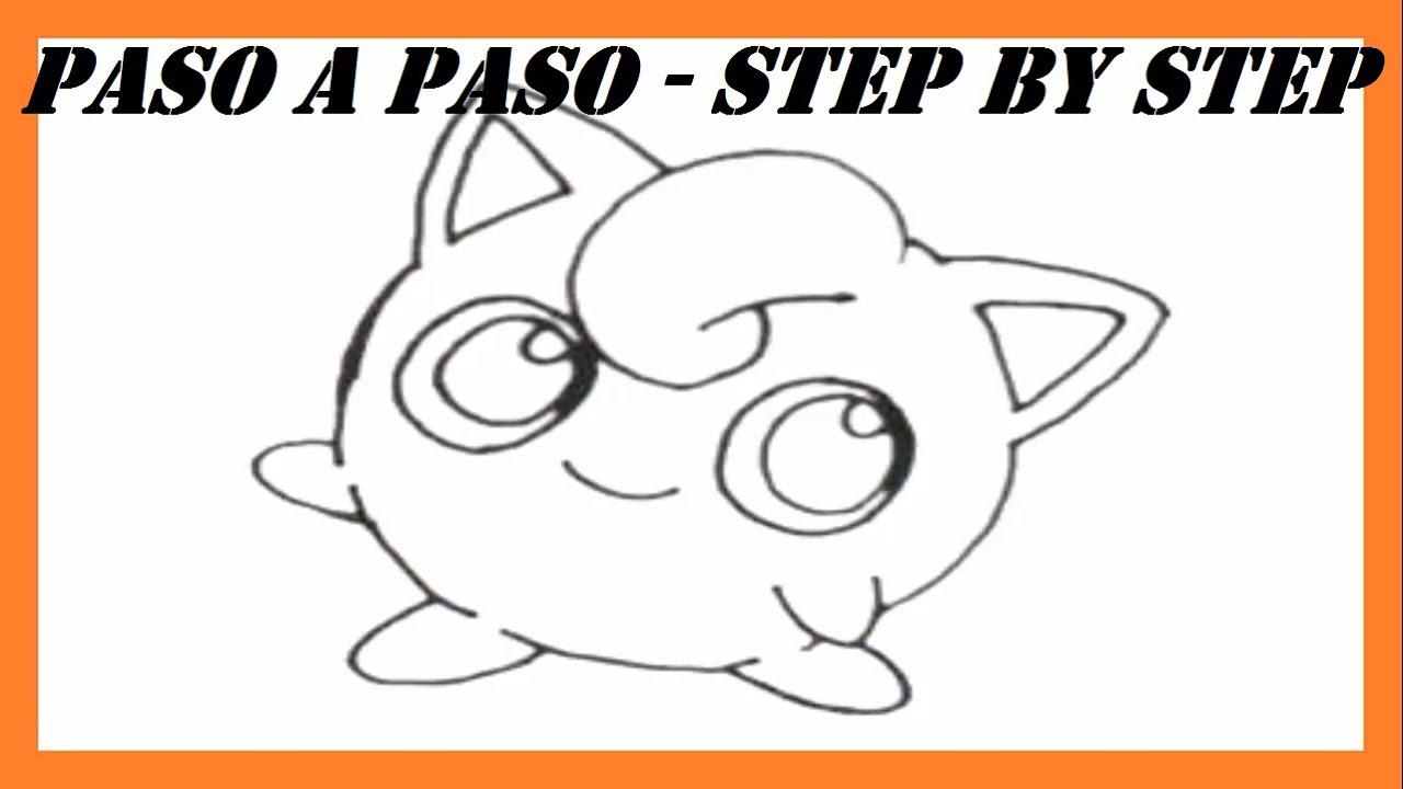 Como dibujar a Jigglypuff Pokmon l How to draw Jigglypuff Pokemon