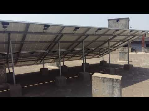 Solar PV Grid Tie Power Plant At Ahmedabad