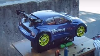 RC Modellismo Caserta - Rc cars rally game in the street with Hobao Hyper gt