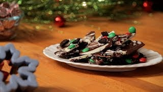 How To Make Decked Out Peppermint Bark   Christmas Cookies