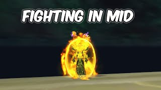 Fighting In Mid - Fire Mage PvP - WoW BFA 8.1.5