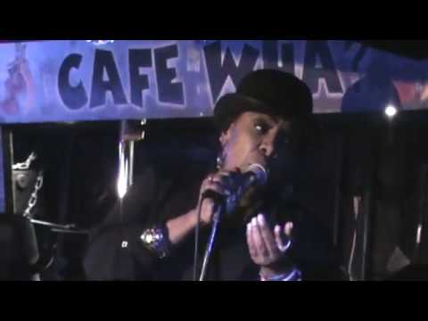 Alyson Williams - Just Call My Name (LIVE AT CAFEWA) with Brent Birchead on alto SAX)