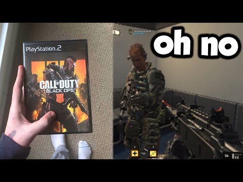 Playing the NEW Call of Duty on the PS2...
