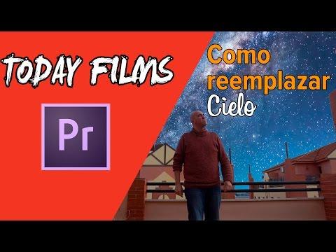 Como reemplazar cielo, sky replacement, cambiar cielo (sin croma) Adobe Premiere CC